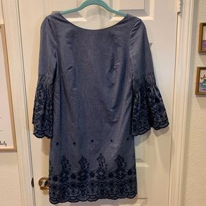 Eliza J dress with embroidered detail size 2